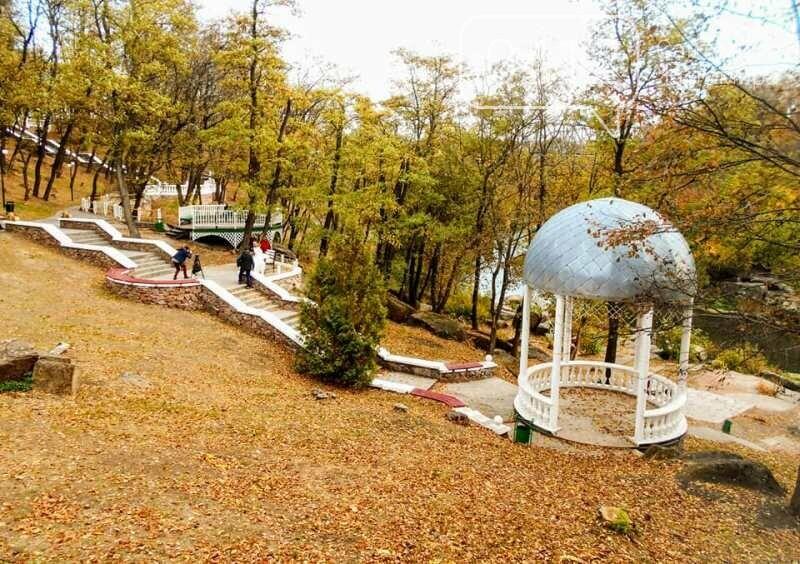 Дивовижний осінній парк у Коростені. ФОТО, фото-5