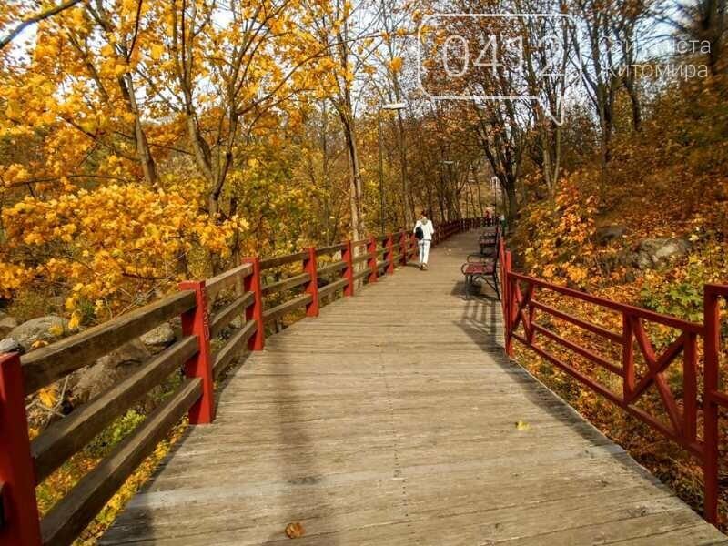 Дивовижний осінній парк у Коростені. ФОТО, фото-2