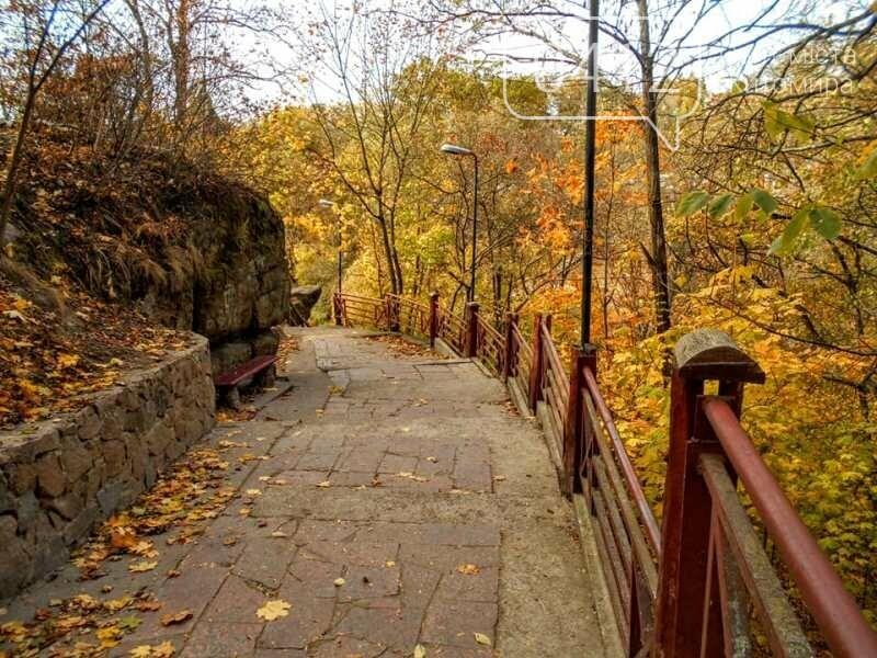 Дивовижний осінній парк у Коростені. ФОТО, фото-6