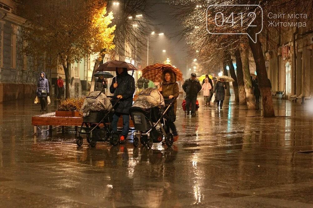 Неймовірний дощовий Житомир. ФОТО, фото-1