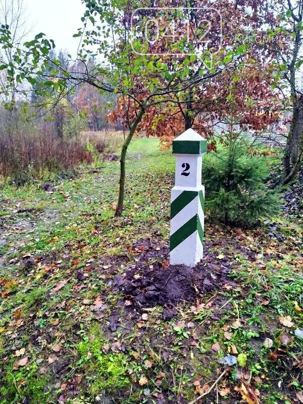 У Зарічанському лісгоспі оновили межові знаки. ФОТО, фото-1