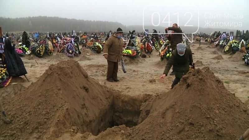 На кладовищах Житомира поховано 95 людей, які хворіли на COVID-19, фото-1