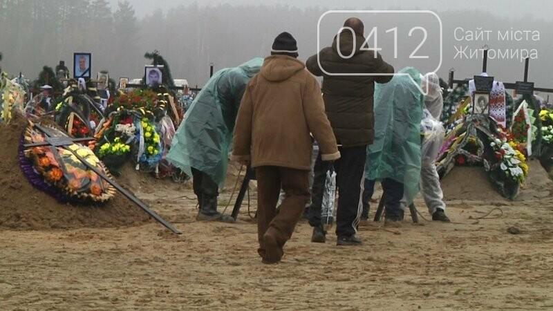 На кладовищах Житомира поховано 95 людей, які хворіли на COVID-19, фото-2