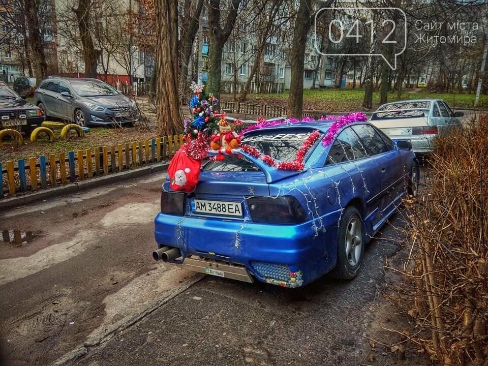 Колоритні куточки зимової Польової в Житомирі. ФОТО, фото-3