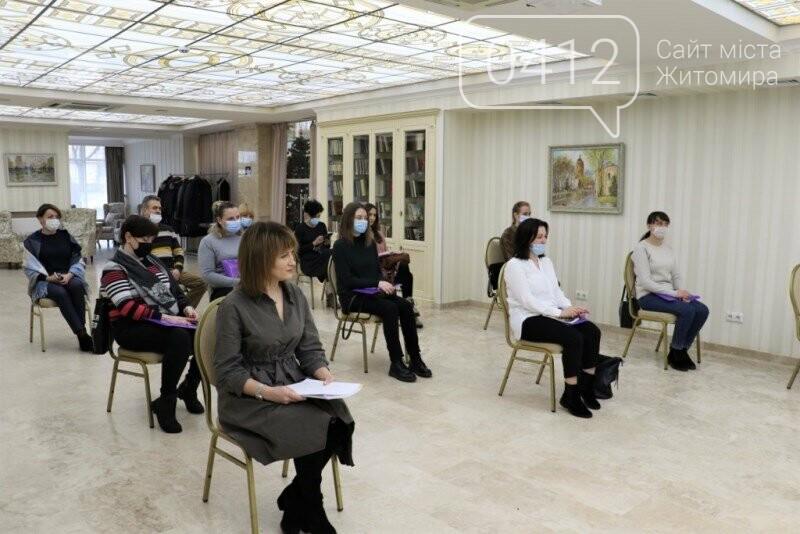 У Житомирі відбувся психологічний тренінг для фахівців, що працюють з дітьми з інвалідністю, фото-10