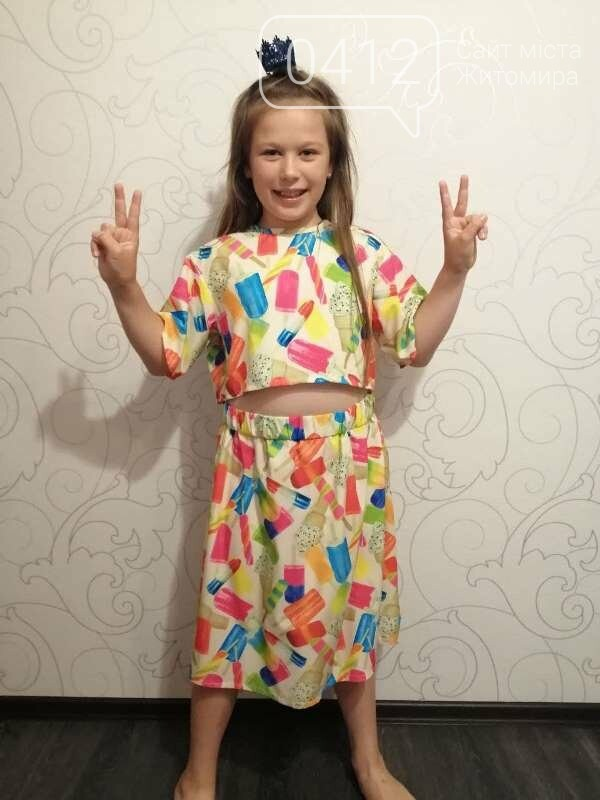 10-річна дизайнерка з Житомира шиє одяг, м'які іграшки, проводить благодійні розіграші-аукціони!, фото-8