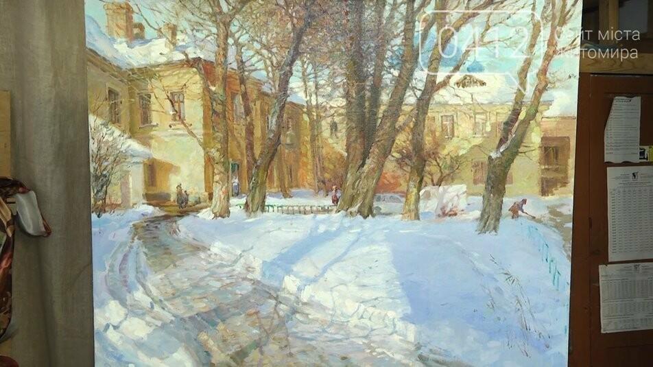 Житомирський художник Юрій Супрунчук: зима найцікавіша пора для творчості, фото-1