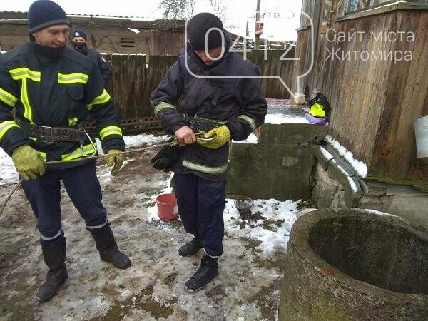 На Житомирщині рятувальники дістали тіло чоловіка, який впав у криницю, фото-2