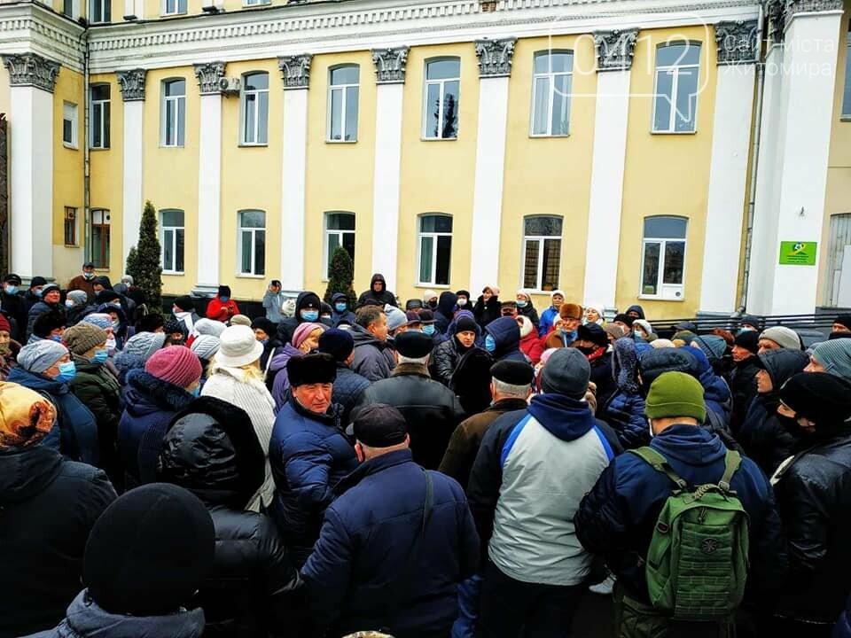 У Житомирі люди мітингували проти здорожчання енергоносіїв. ФОТО. ВІДЕО, фото-1