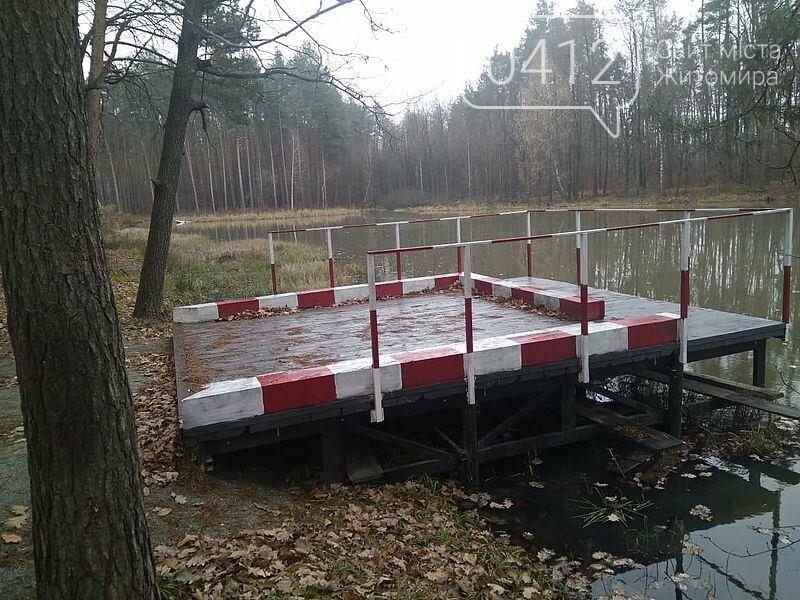 Лісівники Житомирщини в минулому році облаштували понад 350 пожежних водойм, фото-1