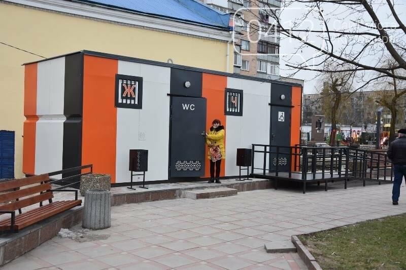 Скористатися нововідкритим туалетом на центральній площі Коростеня можна за 1 гривню, фото-3