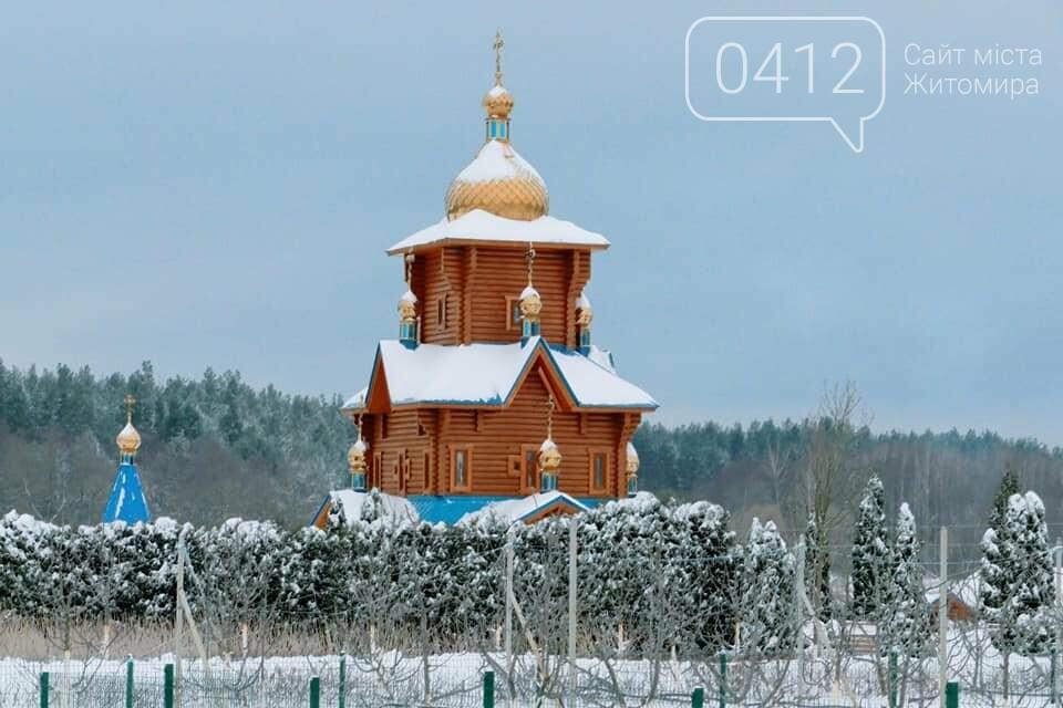 Справжня зима в жіночому монастирі на Житомирщині: у мережі опублікували дивовижні світлини. ФОТО, фото-10
