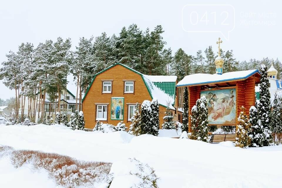 Справжня зима в жіночому монастирі на Житомирщині: у мережі опублікували дивовижні світлини. ФОТО, фото-6