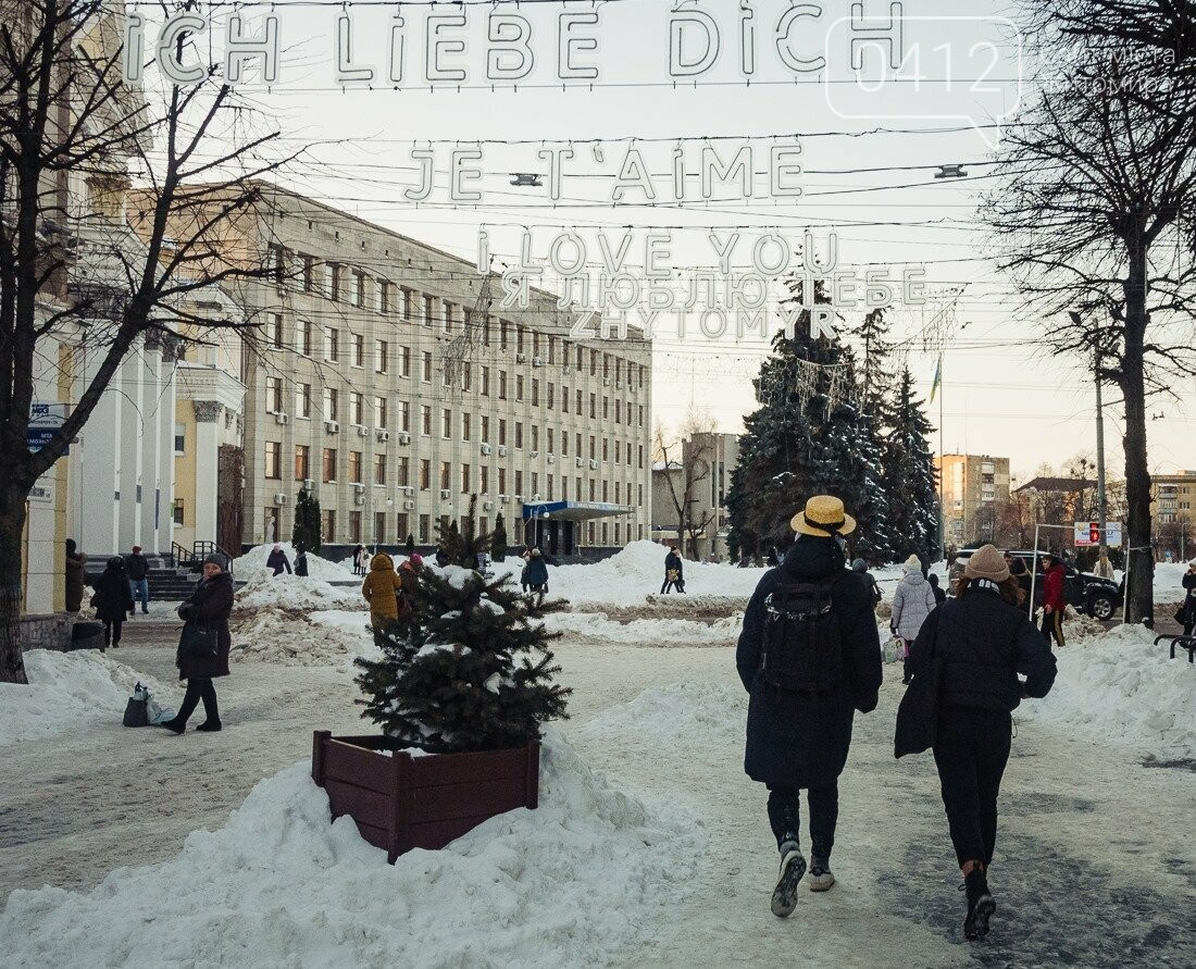 У ритмі зимового міста: колорит засніжених вулиць Житомира. ФОТО, фото-13