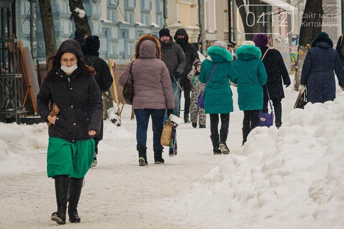 У ритмі зимового міста: колорит засніжених вулиць Житомира. ФОТО, фото-18