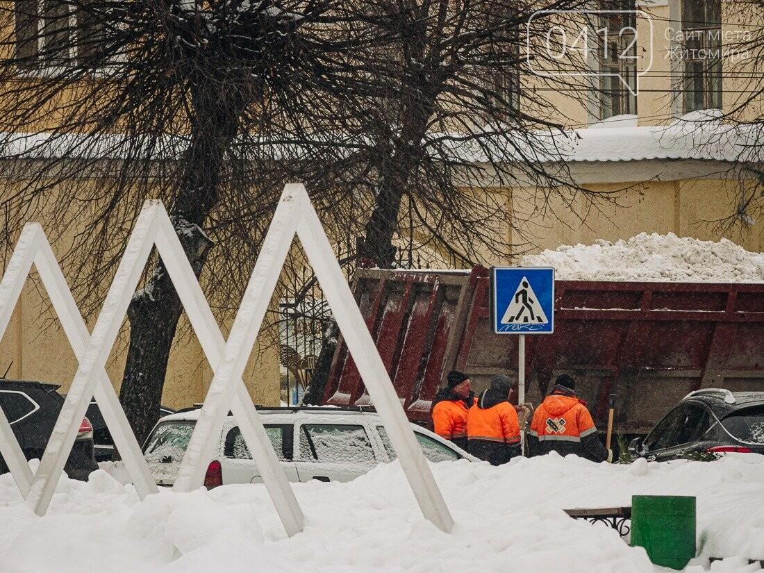 У ритмі зимового міста: колорит засніжених вулиць Житомира. ФОТО, фото-21
