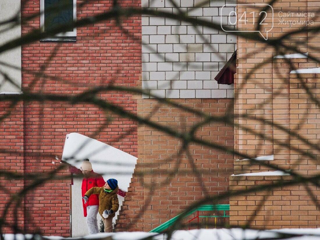 У ритмі зимового міста: колорит засніжених вулиць Житомира. ФОТО, фото-24