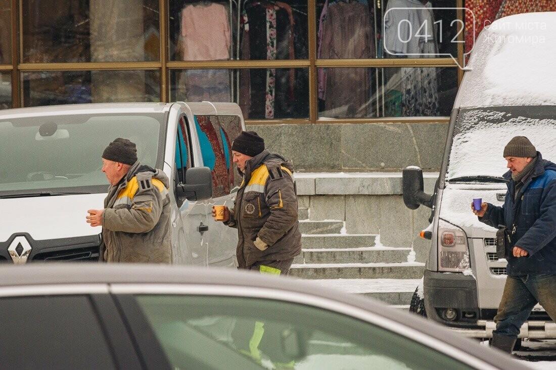 У ритмі зимового міста: колорит засніжених вулиць Житомира. ФОТО, фото-3