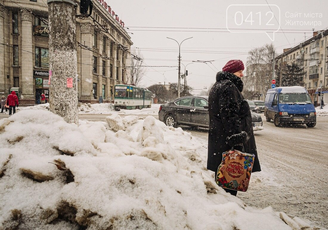 У ритмі зимового міста: колорит засніжених вулиць Житомира. ФОТО, фото-4