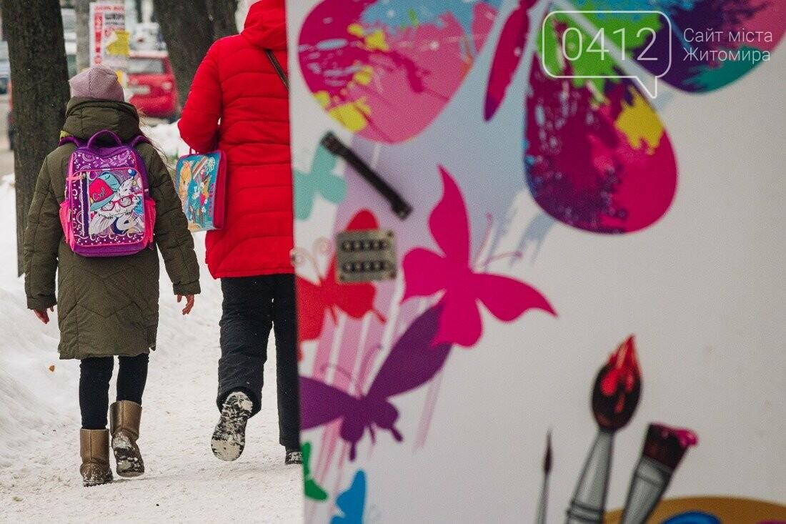 У ритмі зимового міста: колорит засніжених вулиць Житомира. ФОТО, фото-5