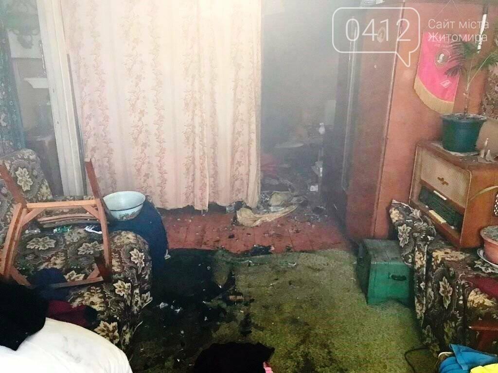 На Житомирщині вогнеборці врятували на пожежі чоловіка, фото-2
