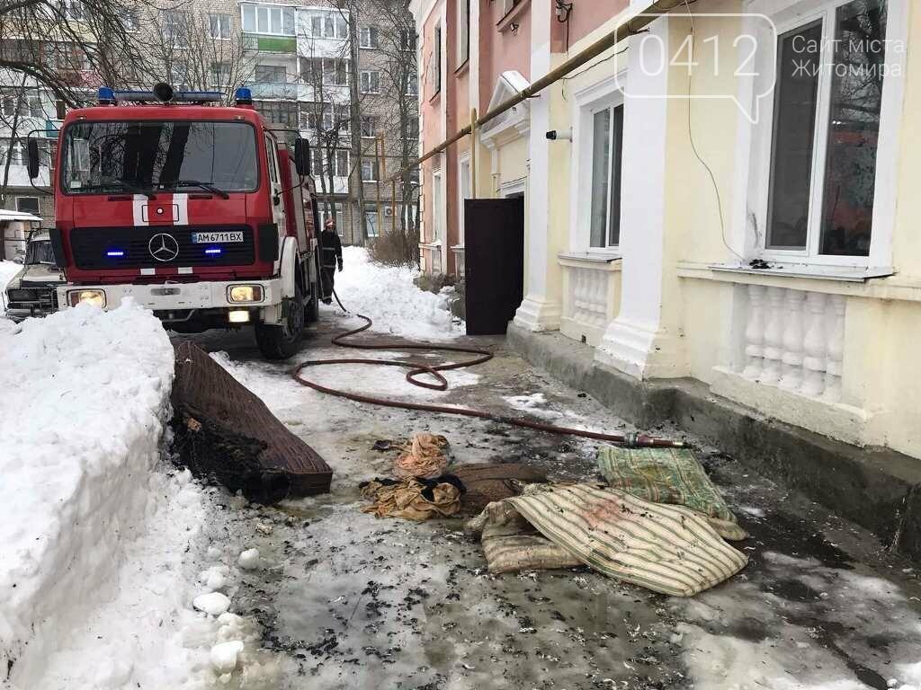 На Житомирщині вогнеборці врятували на пожежі чоловіка, фото-5
