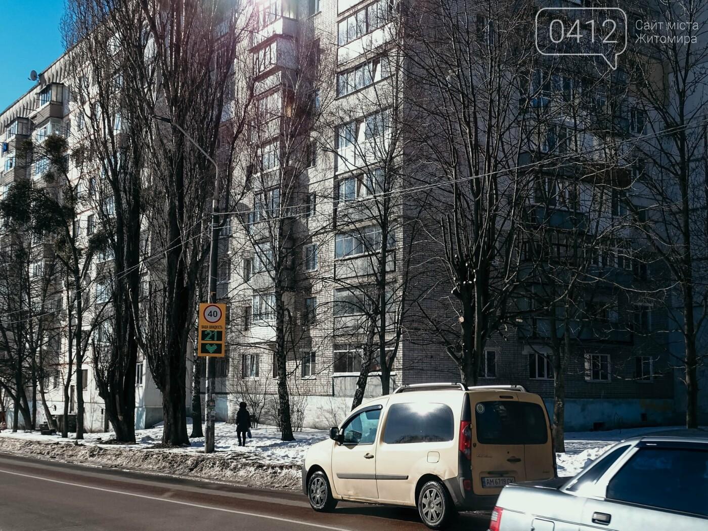 У Житомирі табло-радари показують зразковим водіям сердечка. ФОТО, фото-3