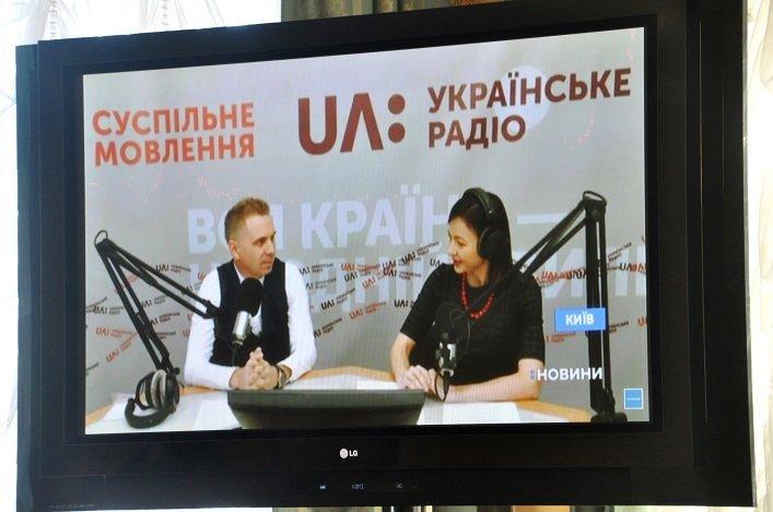 Працівники Житомирської облдержадміністрації написали радіодиктант національної єдності, фото-1