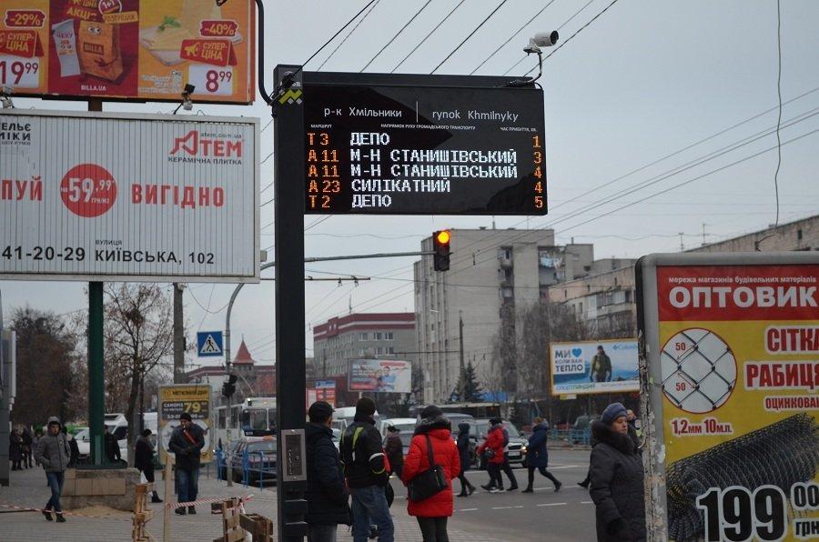 У Житомирі встановили табло з прогнозом громадського транспорту (адреси), фото-2