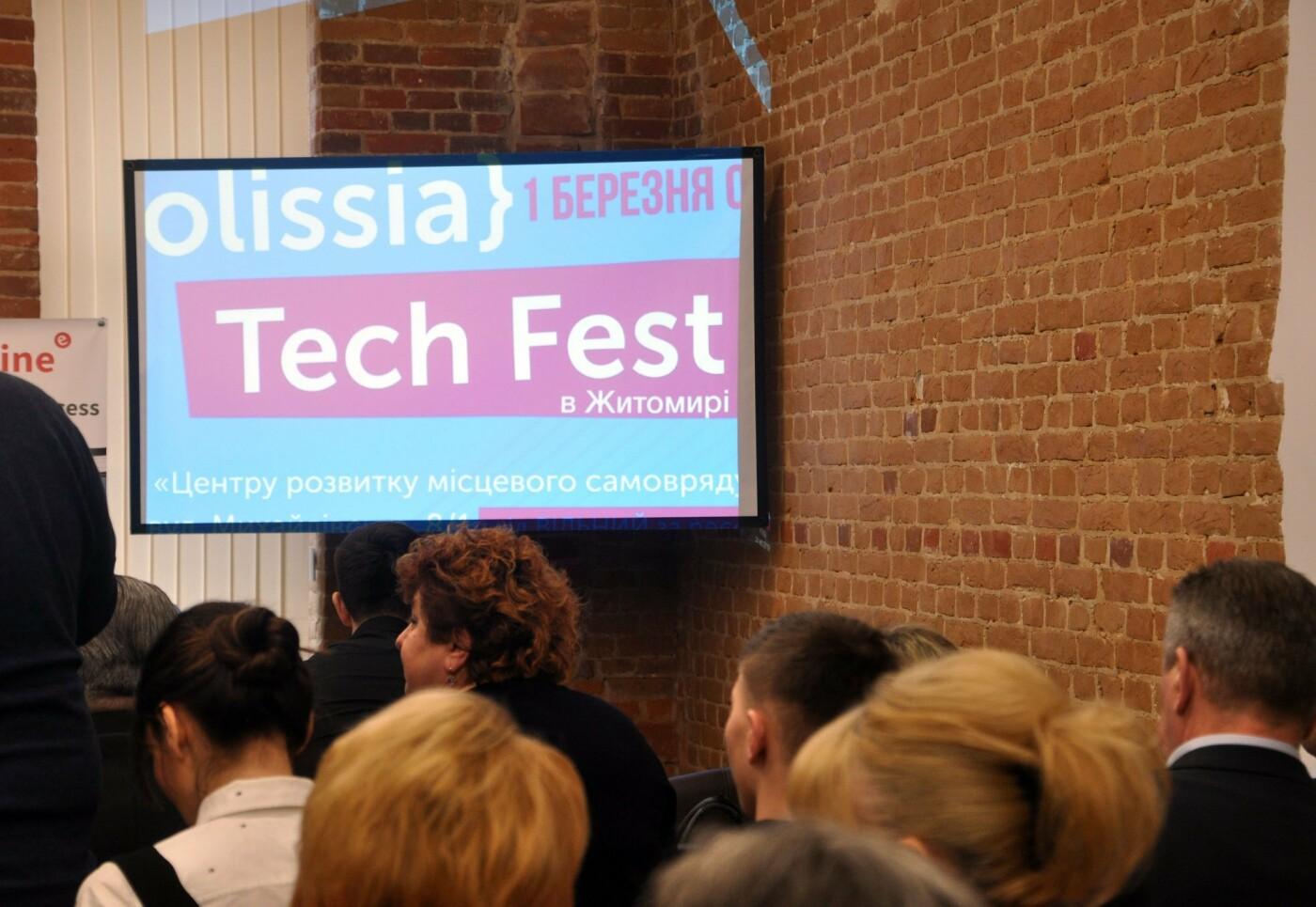 У Житомирі проходить PolissiaTechFest, фото-1