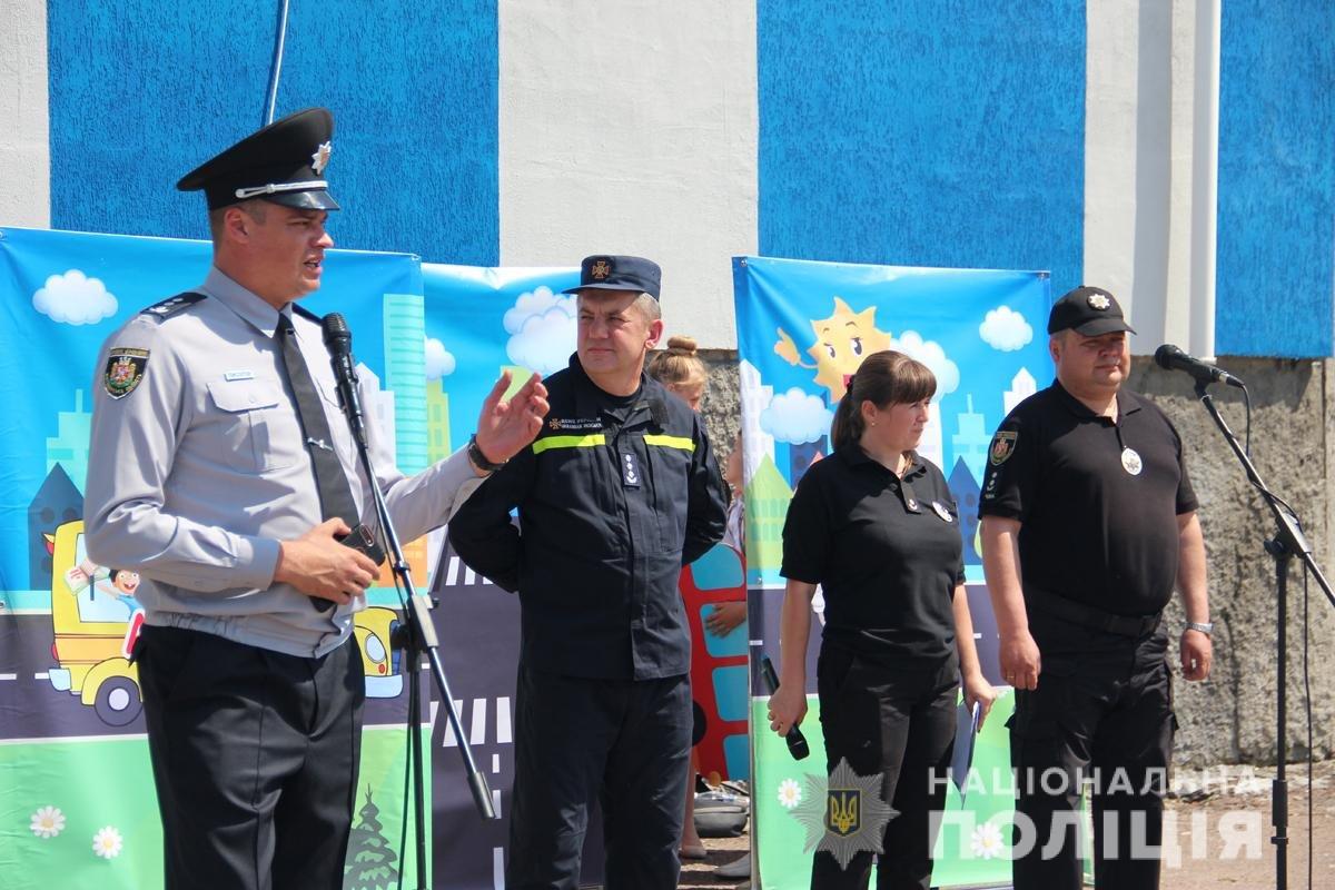 Поліція Житомирської області влаштовувала свято для дітей, фото-12