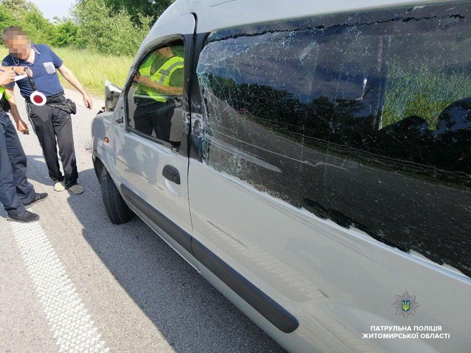 П'яний та без прав. На Житомирщині водій на вантажівці скоїв ДТП та втік, фото-2