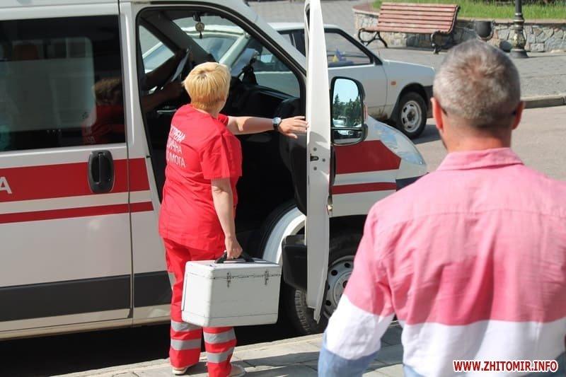 У Бердичеві під час сесії міської ради чоловік намагався скоїти акт самопідпалення, фото-4