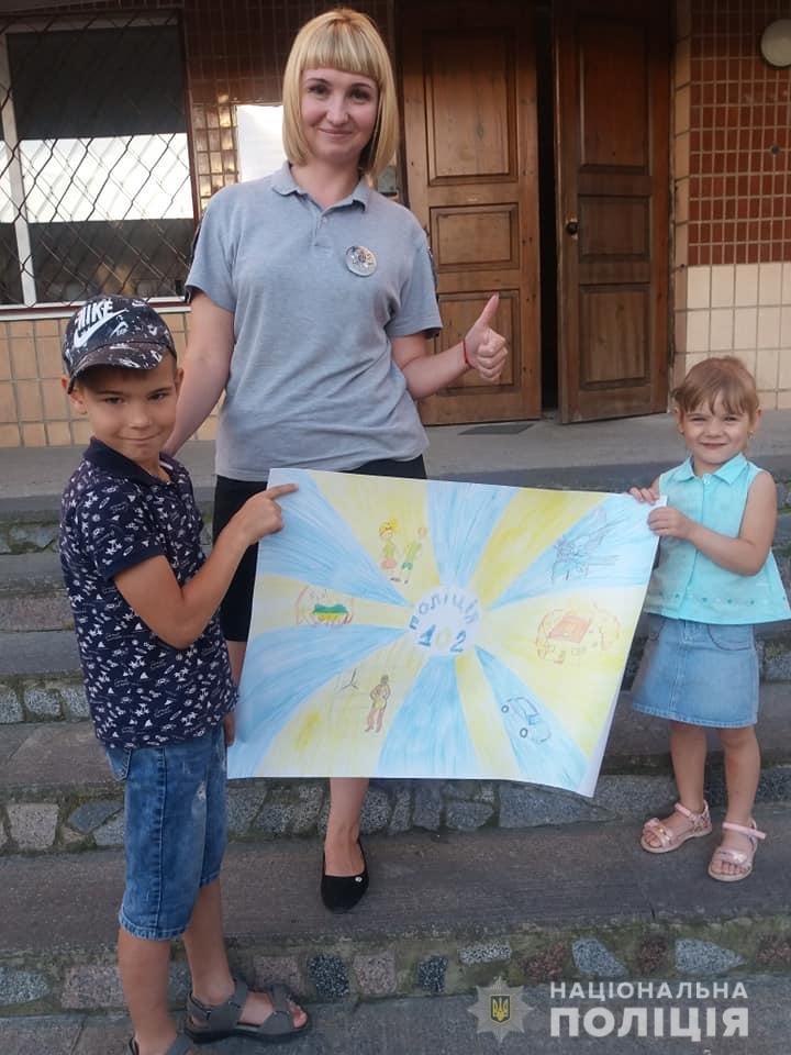 Поліція Житомирщини готується до фіналу конкурсу дитячого малюнку в ролі жюрі, фото-5