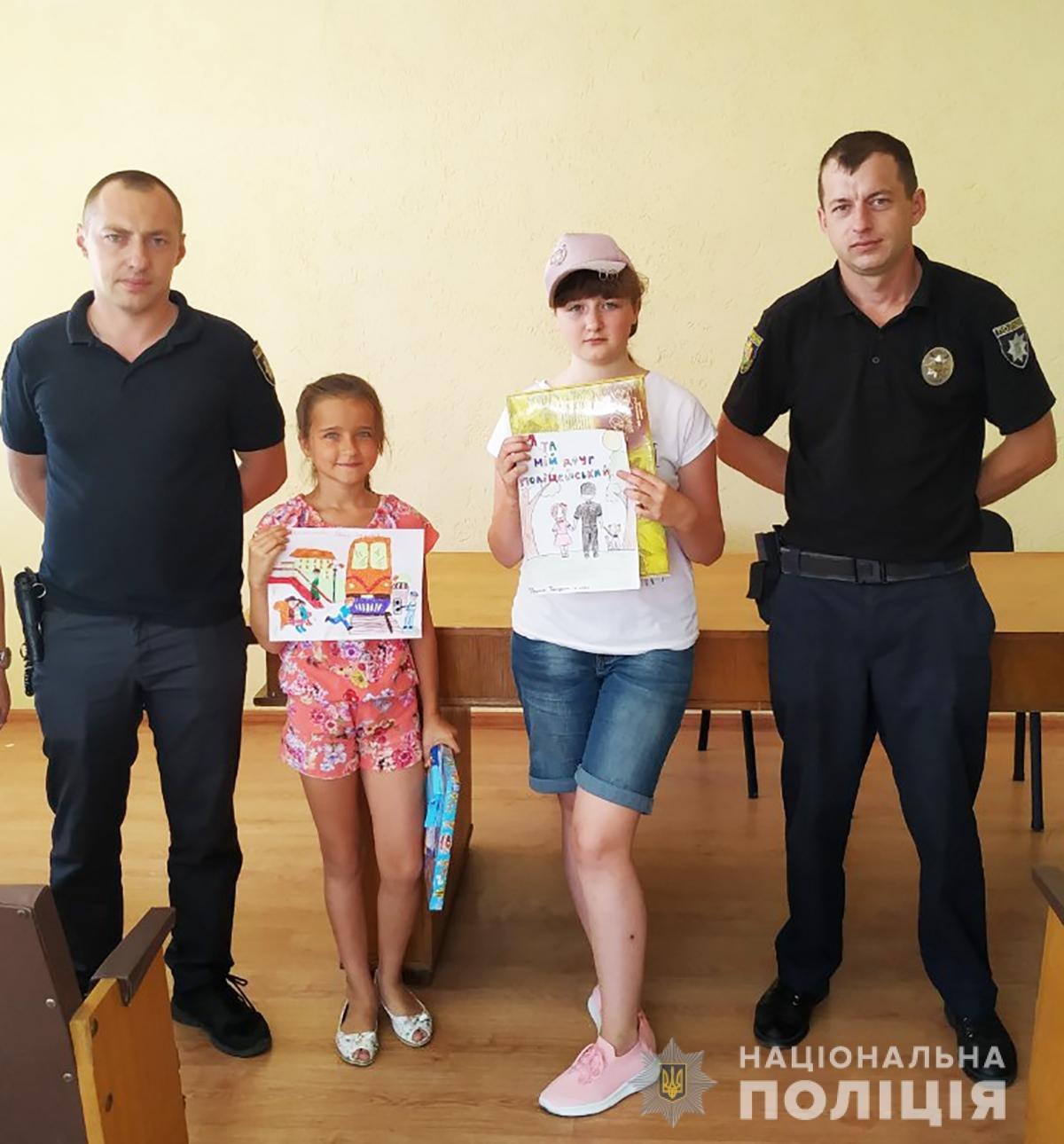Поліція Житомирщини готується до фіналу конкурсу дитячого малюнку в ролі жюрі, фото-3