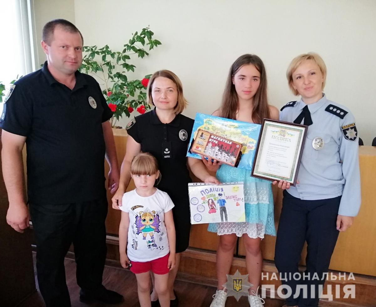 Поліція Житомирщини готується до фіналу конкурсу дитячого малюнку в ролі жюрі, фото-7