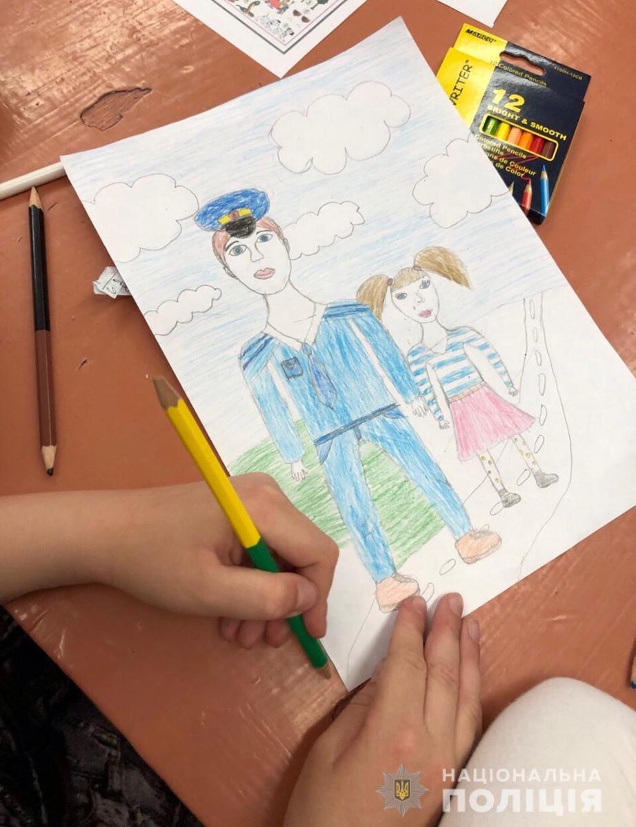 Поліція Житомирщини готується до фіналу конкурсу дитячого малюнку в ролі жюрі, фото-2