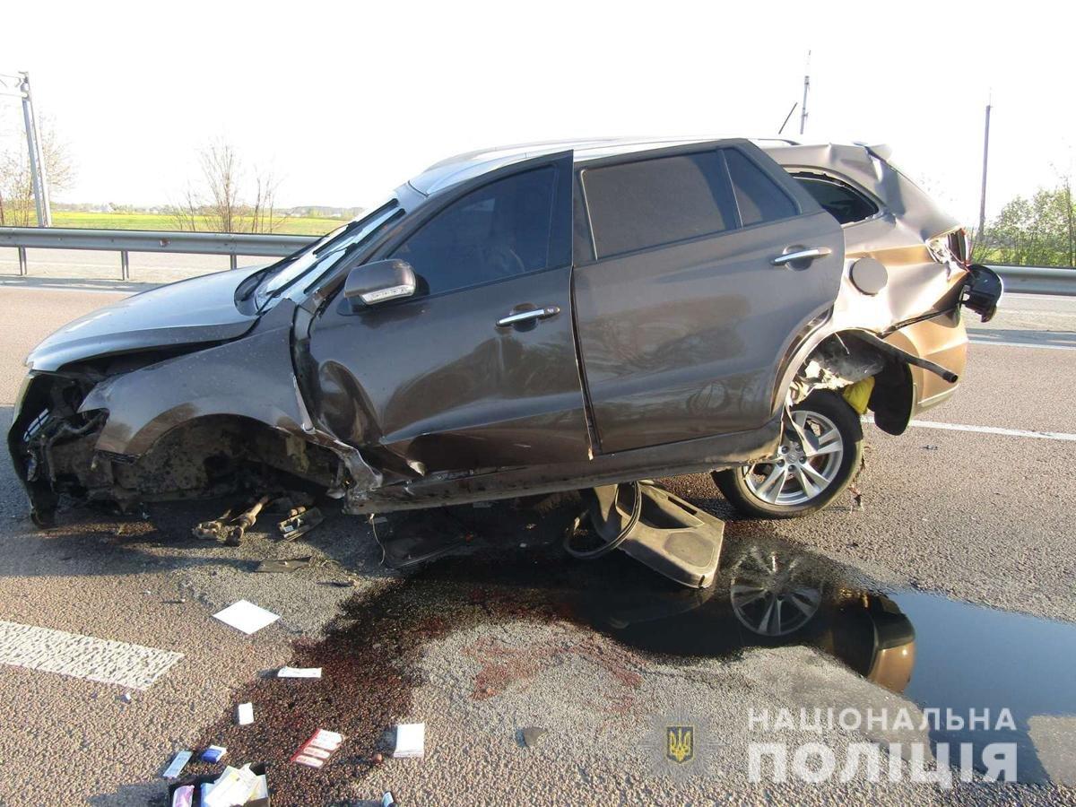 У ДТП на Житомирщині постраждало троє людей, фото-1