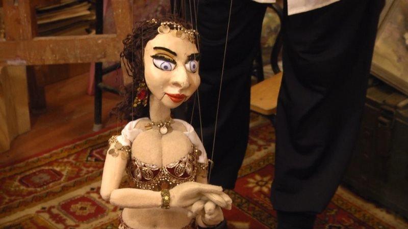 Житомирський лялькар Сергій Соловйов представить нову ляльку, яка виконує східні танці, фото-1