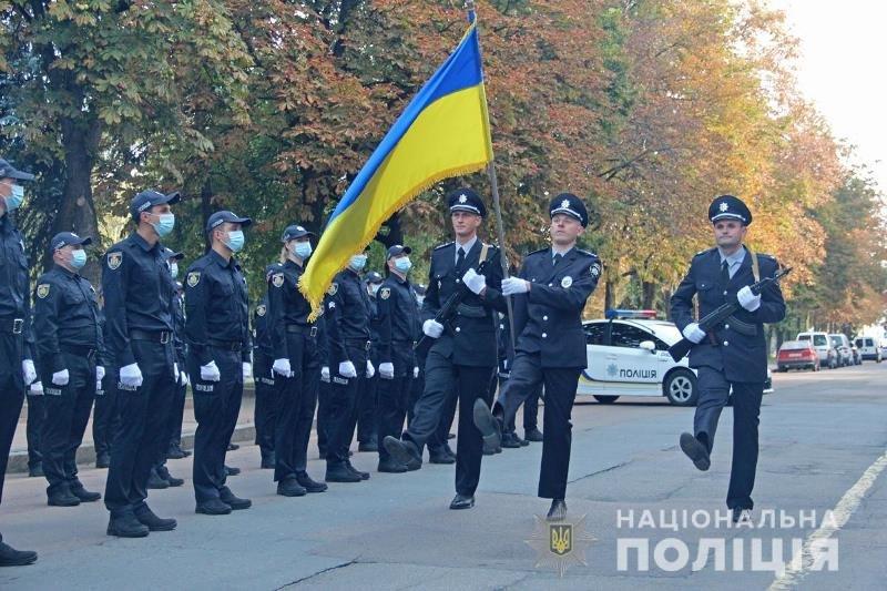 У Житомирі сьогодні склали присягу майже 40 поліцейських. ФОТО, фото-1