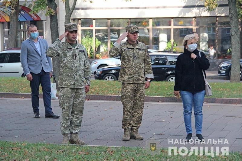 У Житомирі сьогодні склали присягу майже 40 поліцейських. ФОТО, фото-4