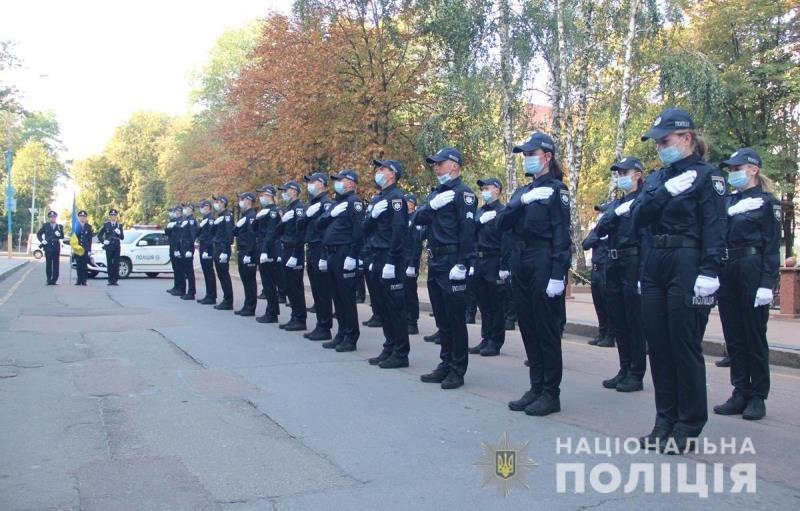 У Житомирі сьогодні склали присягу майже 40 поліцейських. ФОТО, фото-5
