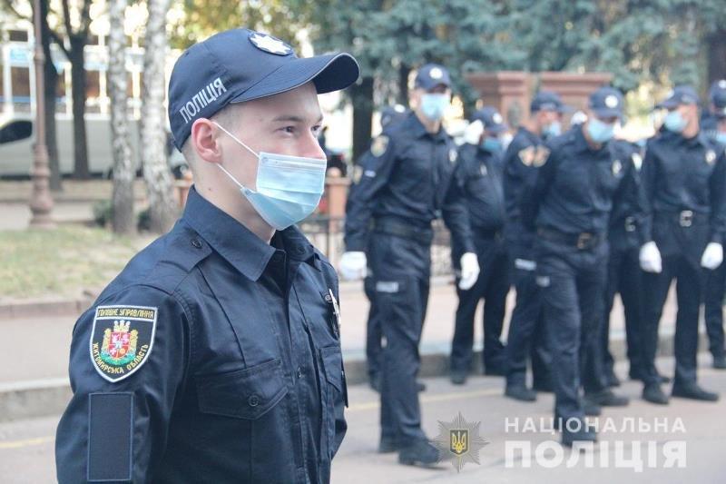 У Житомирі сьогодні склали присягу майже 40 поліцейських. ФОТО, фото-3