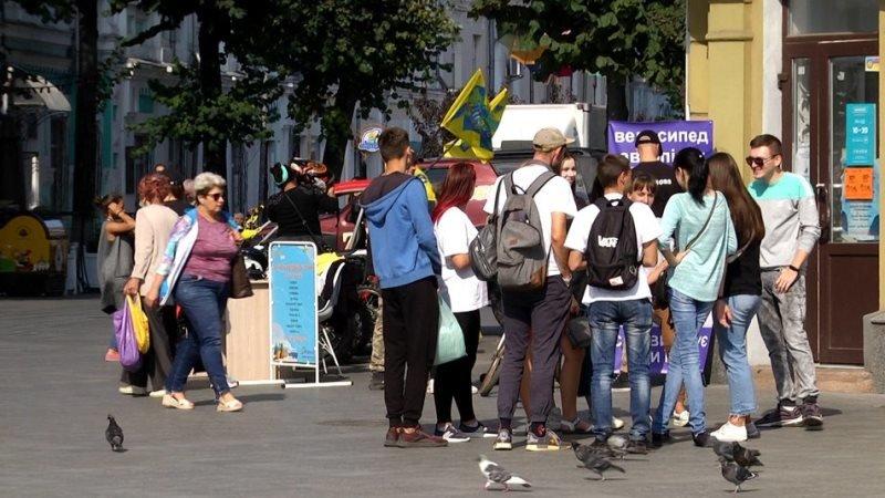 День туризму в Житомирі: 11 турагенцій міста презентували себе на Михайлівській, фото-1