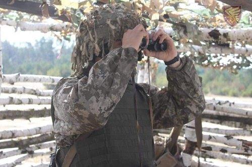 Для десантників 95-ої бригади провели тактичні навчання з бойовою стрільбою, фото-1