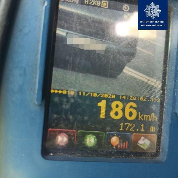 136 км/год замість дозволених 50: На Житомирщині водій Porsche перевищив швидкість в декілька разів, фото-2