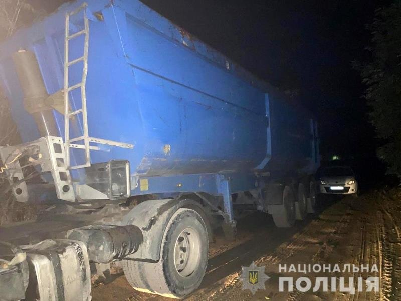 У Коростишівському районі поліцейські затримали автомобіль з піском, фото-1