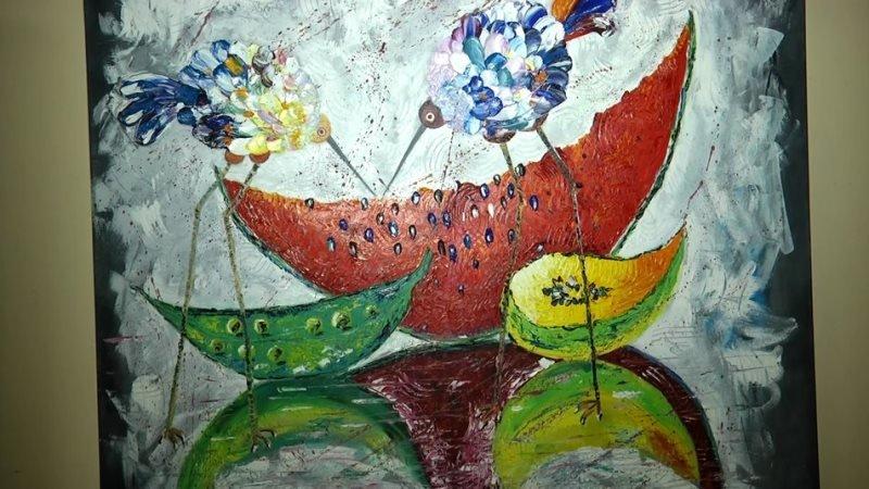 У Житомирі презентують виставку художниці Наталії Жукової, яка намалювала більше 600 картин, фото-5