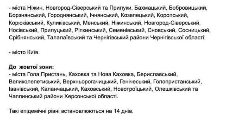 Які населені пункти Житомирщини з 2 листопада будуть у червоній карантинній зоні?, фото-8